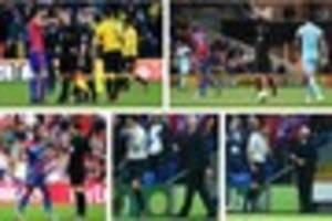Crystal Palace fans are very happy as controversial referee Mark...