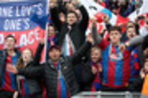 Revealed! The amount of tickets Crystal Palace would have to sell...