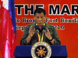 Russia To Share Intelligence With Philippines, Train Duterte Guards