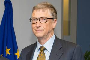Gates unveils report showing EU overtakes UK on medical research for developing world