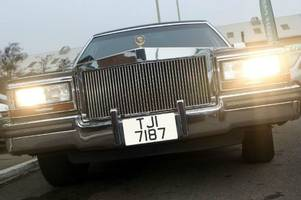 Trump Cadillace for sale in the UK - five previous owners (including The Donald)