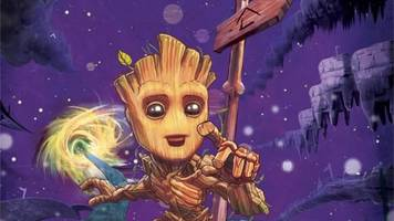 baby groot is getting his own comic, just in time for guardians of the galaxy vol 2