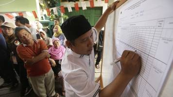 tense second vote expected in jakarta