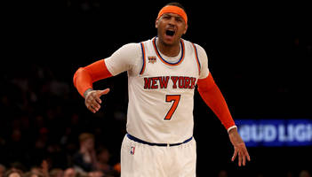 Carmelo Anthony to replace Kevin Love on All-Star team