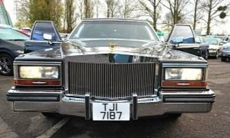 Donald Trump's Old Cadillac Limousine For Sale At GBP 50,000