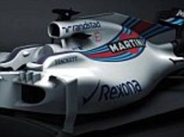 williams first team to release images of 2017 f1 car