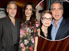 George Clooney's mum confirms Amal will have boy and girl