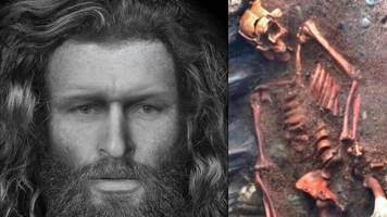 Facial reconstruction made of 'brutally-killed' Pictish man