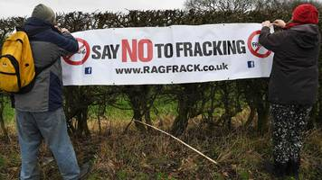 Little Plumpton fracking protest: Five men and a woman arrested