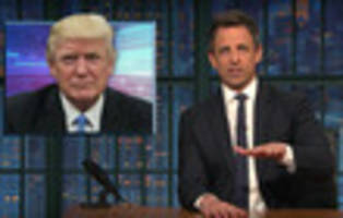 video: late night comedians toast trump's amazing tremendously successful press conference