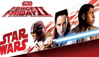 get first look at rey, finn and poe's new style in 'star wars: the last jedi'