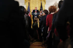 Donald Trump supporters cheer combative news conference: 'He handled the news conference very well'