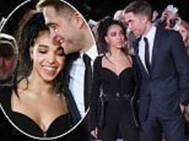 Robert Pattinson and fiancee FKA twigs attend premiere