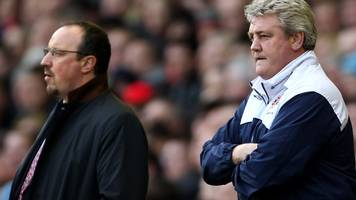 rafael benitez: newcastle boss says aston villa struggles show championship is tough