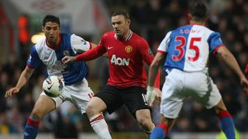 Blackburn Rovers v Manchester United