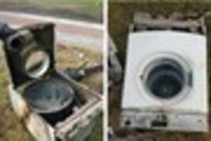 House fire in Clare Road, Walsall caused by tumble dryer fault