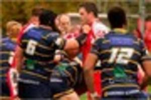 Worthing v Barnstaple: National League Two South rugby match...