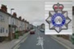 police still searching for robber who assaulted  man  in grimsby