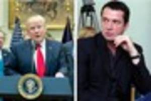 Donald Trump mocked by Knights Tale, Hollow Crown and Rome actor...