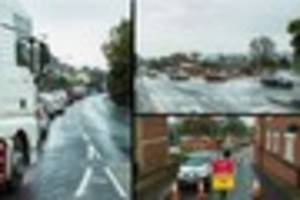 a30 sherborne road in yeovil to close 24/7 for major drainage...