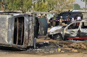 11 dead as Nigerian troops repel Boko Haram suicide bombers