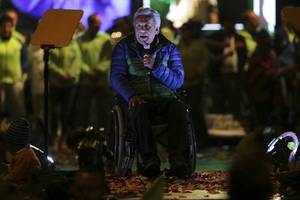 Ecuador's Paraplegic Presidential Candidate Offers Hope To The Disabled