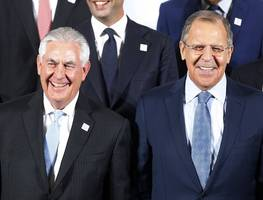 US Secretary Of State Rex Tillerson Says Russia Must Honor Ukraine Deal