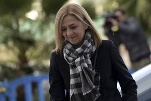 video: spanish princess cristina acquitted but husband sentenced over fraud