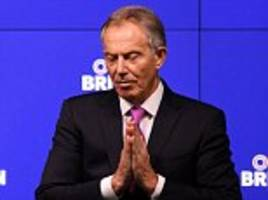 Tony Blair exhorts Remainers to 'rise up' against Brexit