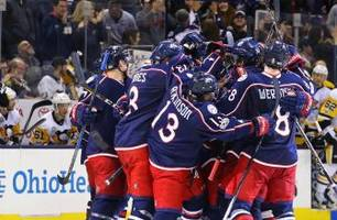 dubinsky's ot goal lifts blue jackets over penguins
