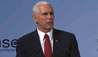 Mike Pence Vows Unwavering Support For NATO, Pledges To Hold Russia Accountable