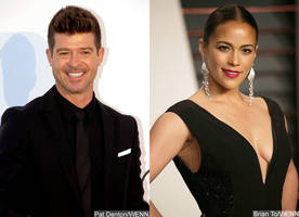 police called as robin thicke and paula patton square off in public