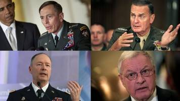 one of these people could be trump's new national security adviser