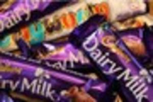 chocolate bars such as dairy milk and kitkats are set to shrink!