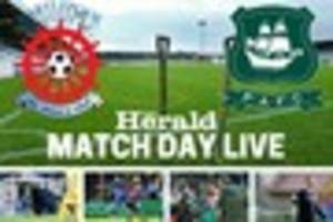 LIVE: Hartlepool United v Plymouth Argyle - Pilgrims travel...