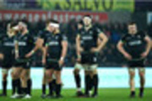 Ospreys 23 Munster 25: Late try denies hosts in top-of-the-table...