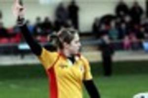 exeter's sara cox to make history this weekend as first woman...