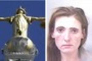 woman jailed for attempted street robbery celebrates prison...