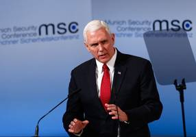 pence: iran won't have nuclear weapons to use against us or israel