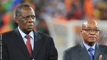 caf say hayatou has support of president zuma despite cosafa stance
