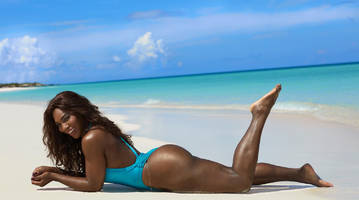serena williams reveals posing for si swimsuit is 'more nerve racking' than playing the us open
