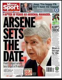Talking balls: Wenger stays at Arsenal for four more years and leaves in the summer