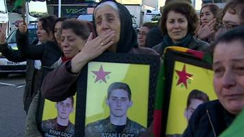 kurds grieve for briton killed fighting in syria