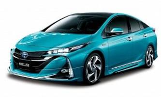 Toyota Prius Prime Plug-in Gets Tuned by TRD and Modellista in Japan