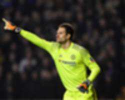 begovic focused on chelsea despite collapse of deadline day transfer to bournemouth