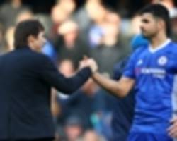 revealed: why conte chose diego costa over michy batshuayi against wolves