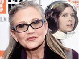 carrie fisher chillingly predicted her own death