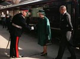 the queen's favourite the royal train saved from scrapheap