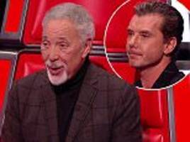 tom jones' best name-dropping yet on the voice