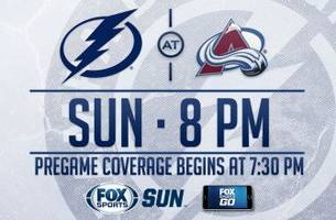 tampa bay lightning at colorado avalanche game preview